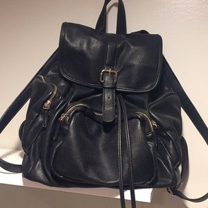 Forever 21 black backpack
